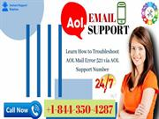 How to Troubleshoot AOL Mail Error 521 - AOL Support Number