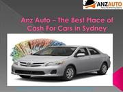 Anz Auto – Cash for Cars in Sydney