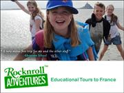 Educational Tours to France with Rocknroll Adventures