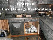6 Steps of Fire Damage Restoration Moreno Valley CA