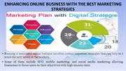 ENHANCING ONLINE BUSINESS WITH THE BEST MARKETING STRATEGIES