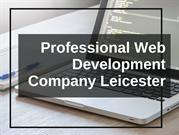Professional Web Development Company Leicester