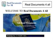 Fake ID card online, Fake international ID,