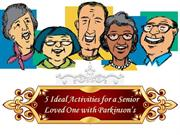 5 Ideal Activities for a Senior Loved One with Parkinson's