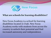 Why choose New Focus Academy?