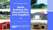 Metal Building Kits Manufacturer and Suppliers | Metal Carports Direct