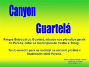 Canyon Guartelá (Getulio) - Grand Canyon