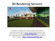Quality 3D Rendering Services For Real Estate