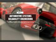 Automotive Systems Reliability Engineering Training