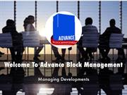 Advance Block Management Presentations