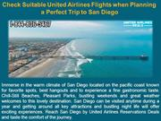 Check Suitable United Airlines Flights when Planning a Perfect Trip to
