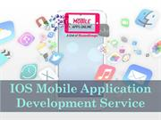 IOS Mobile Application Development Service