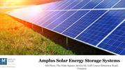 Solar Power Storage Systems from Amplus Solar