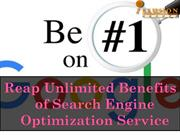 Reap Unlimited Benefits of Search Engine Optimization Service