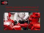 Regular Inspection and Maintenance of your Fire Protection Systems