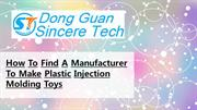 Plastic molding china