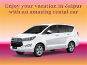 Enjoy your vacation in Jaipur with an amazing rental car