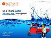 Drinking Water Delivery App development
