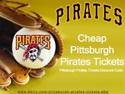 Cheap Pittsburgh Pirates Tickets | Pittsburgh Pirates Discount Code