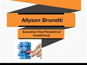 Allyson Brunetti Executive Vice President at InvestCloud