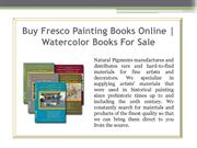 Fresco Painting Books Online | Watercolor Books For Sale