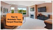 Tips to Maintain Your Carpet Flooring