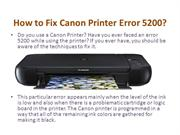 How to Fix Canon Printer Error b200?