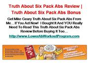 Lower Ab Workout Program Review