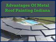 Advantages Of Metal Roof Painting Indiana