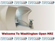 Washington Open MRI is the Best Open MRI Examinations in Maryland