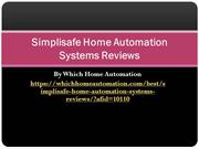 Simplisafe Home Automation Systems Reviews