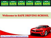 Learn Manual Driving Lesson in Blacktown with our Driving Instructors