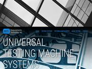 Acquire Bench-Top Universal Testing Systems at Unbeatable Price