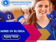 MBBS study in Russia.