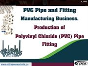 PVC Pipe and Fitting Manufacturing Business