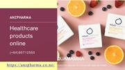 Choose healthcare products online in New Zealand - Anzpharma