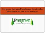 Evergreen Lawn & Landscape Services LLC