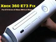 Xbox 360 E73 Fix - Fix E73 Error in Xbox