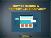 How to design a perfect landing page