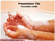 Hand Washing Powerpoint Template