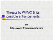 Wimax Technology Threats & Enhancements