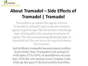 About Tramadol – Side Effects of Tramadol | Tramadol