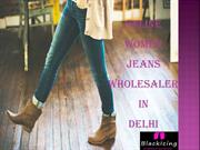 High-Quality Black Jeans Dealer in Delhi – Blackicing