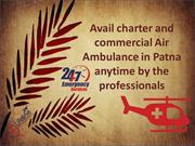 Patna Air Ambulance Services – Book Lifeline Air Ambulance in Patna