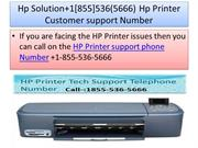 Hp Solution+1[855]536(5666) Hp Printer Customer support Number