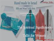 The Spiritual Significance of Tallit for Women