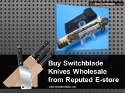 Buy Switchblade Knives Wholesale from Reputed E-store