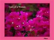 Tears of a woman - PPS