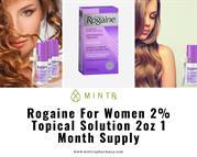 Rogaine For Women 2% Topical Solution, 2oz, 1 Month Supply