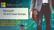 Latest Microsoft 70-473 Exam Dumps - Microsoft 70-473 Dumps PDF